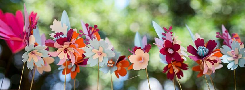 WedReviews - אטרקציות לחתונה, גימיקים לחתונה - PaPelo | Festive Paper Flowers