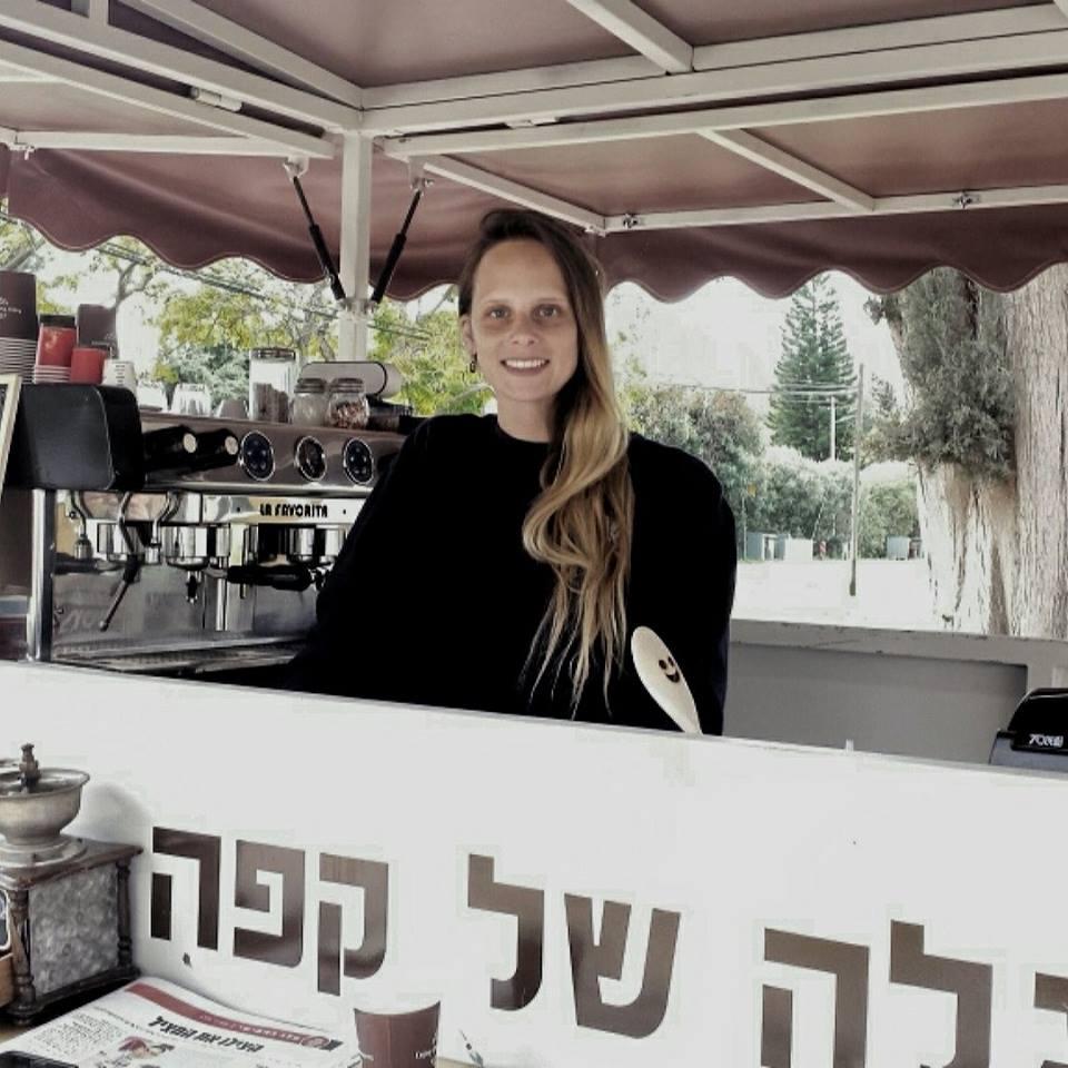 WedReviews - אטרקציות לחתונה, גימיקים לחתונה - עגלה של קפה