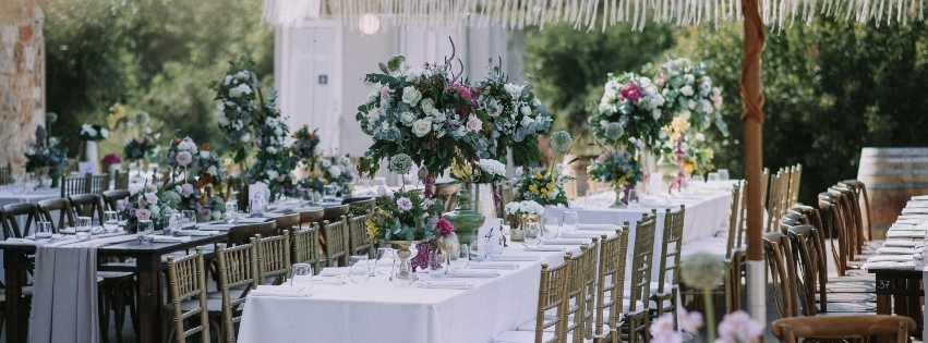 WedReviews - סידורי פרחים - סתיו אגם | עיצוב והפקת אירועים
