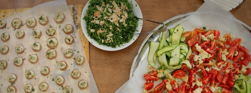 WedReviews - קייטרינג לחתונה - איילה - אוכל עם מודעות